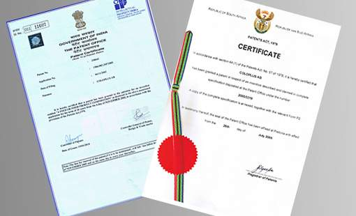International Patent granted